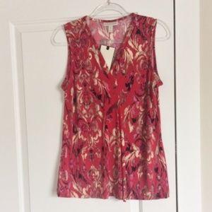NWT Women's Sleeveless Blouse Size Medium